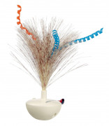 Trixie Pluma que se Tambalea Feather Wobble, Plástico 5×14 cm