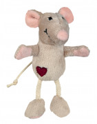 Mouse, Plush Lysebrun