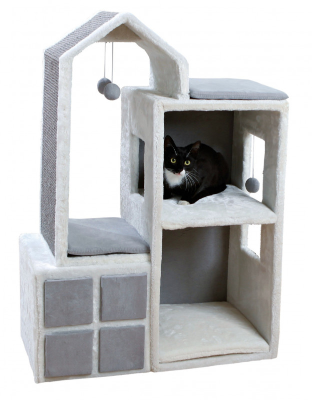 trixie cat tower gala 105 cm tiragraffi a torre. Black Bedroom Furniture Sets. Home Design Ideas