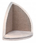 Trixie Scratching Board for Corners Light gray