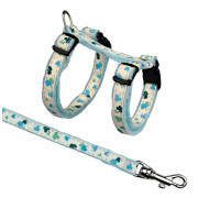 Glow in the Dark Kitten Harness with Leash 21-33 cm