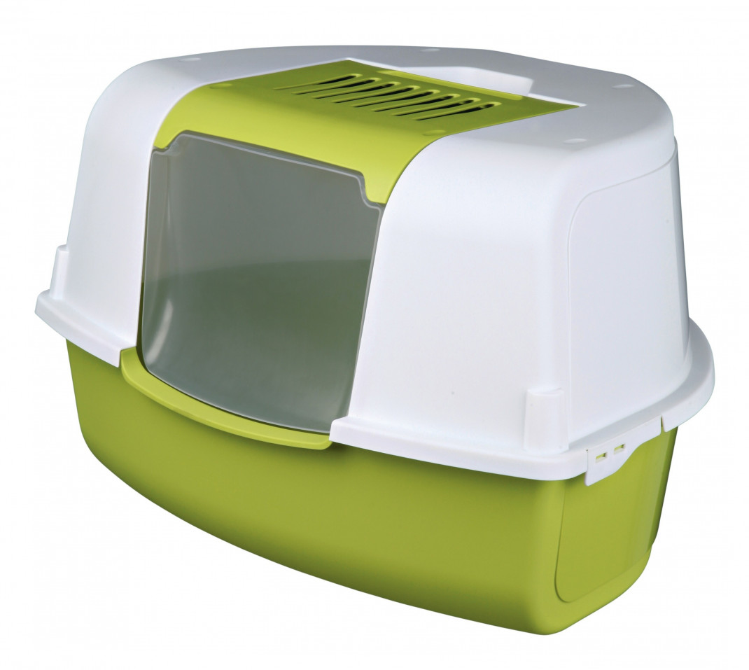 Trixie Tadeo Open Top Corner Litter Tray with Hood EAN: 4011905403588 reviews