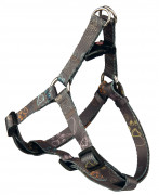 Trixie Jimmy One Touch Harness, brown