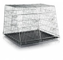 Wire Crate, Galvanized, Double 90×64×79 cm
