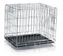 Wire Crate, Galvanized 116x86x77 cm