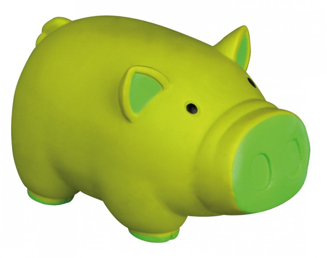 Trixie Pig, Latex, with sound  11 cm