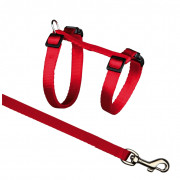 Trixie Cat Harness with Leash, Nylon 27-45/1 cm