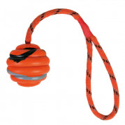 Trixie Wavy Ball on a Rope, Natural Rubber 6 cm