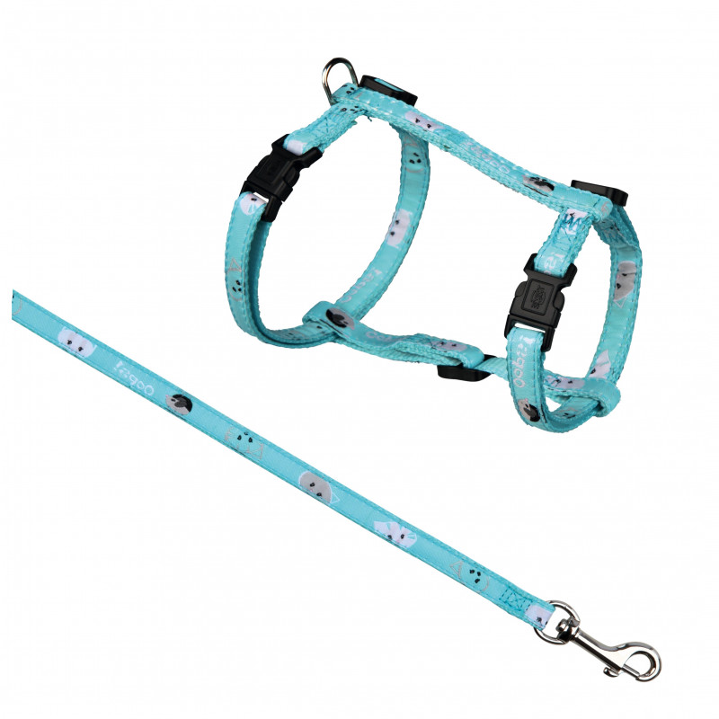 Trixie Mimi Cat Harness with Leash, Nylon 4011905418766 erfarenheter