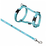 Trixie Mimi Cat Harness with Leash, Nylon