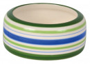 Trixie Ceramic Bowl, green/blue/creme 50 ml