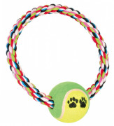 Denta Fun Rope Ring with Tennis Ball - EAN: 4011905032665