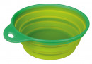 Travel Bowl, Silicone, inflexible rim 500 ml