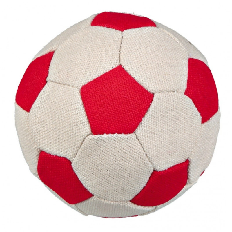 Trixie Assortment Soft Soccer Toy Balls, Canvas