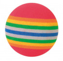 Set of Rainbow Balls, Foam Multicolor