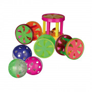 Assortment Balls and Rolls, Plastic 4.5 cm