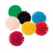 Assortment Hedgehog Balls, Vinyl 120 Pcs