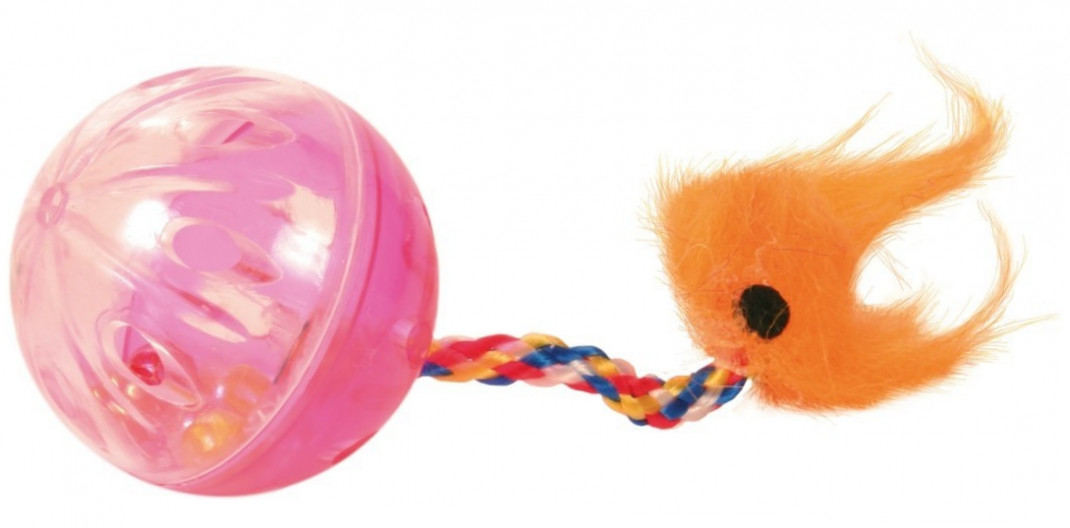 Trixie Set of Rattling Balls with Tails, Plastic EAN: 4011905041650 reviews