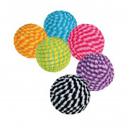 Trixie Assortment Spiral Balls, Plastic/Nylon 54 Pcs