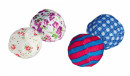 Trixie Set of Rustling Balls Polyester / Cotton 5 cm