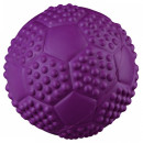 Trixie Textured Sport Ball, Natural Rubber