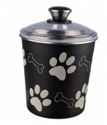 Food and Snack Jar, Black 1.9 l