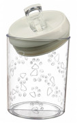 Food and Snack Jar, White 1.5 l