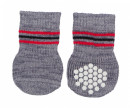 Trixie Dog Socks, grey