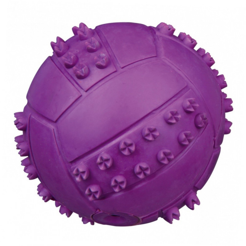 Trixie Textured Ball Natural Rubber