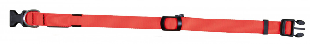 Trixie Collar Flash, Nylon S-M Coral