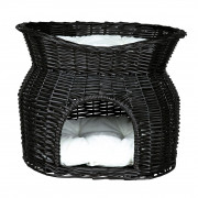 Trixie Wicker Cave with Bed and Cushions on Top Art.-Nr.: 50735