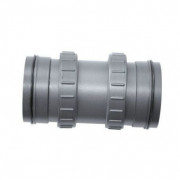 Sera Main Tube with Union Nuts for UV-C System 24W Grey
