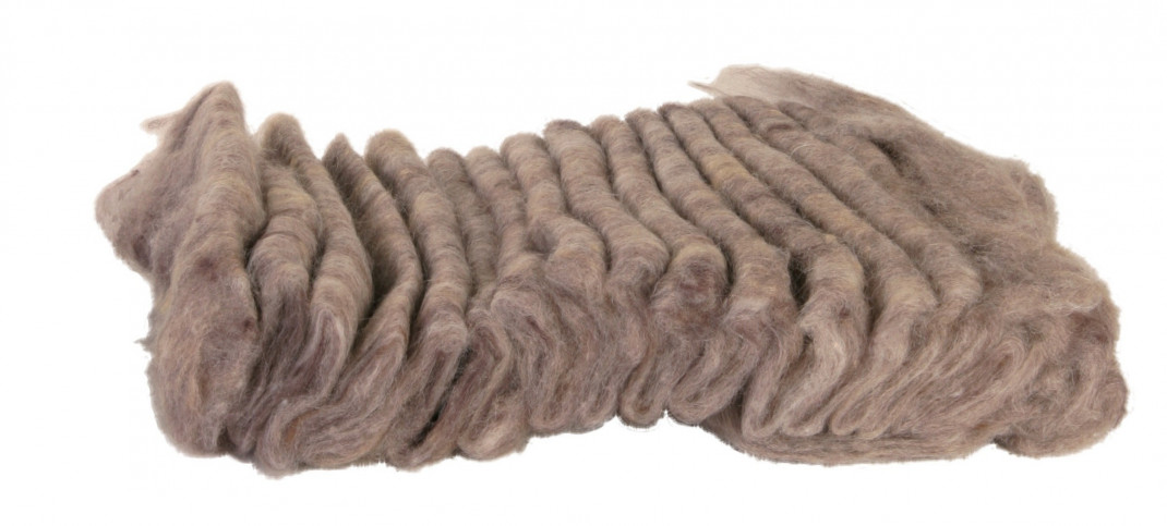 Trixie Wooly Hamsterseng  20 g Bruin