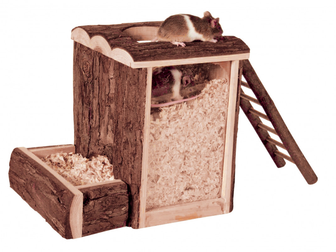 Trixie Natural Living Play and Burrow Tower 20x20x16 cm Brown buy online