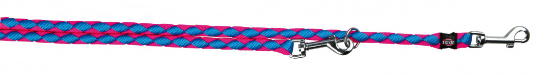 Trixie Cavo Justerbart Koppel  L-XL neon blue/neon pink