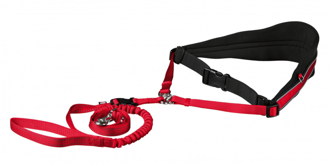 Trixie Waist Belt with Leash for Medium-Sized and Large Dogs  M-L