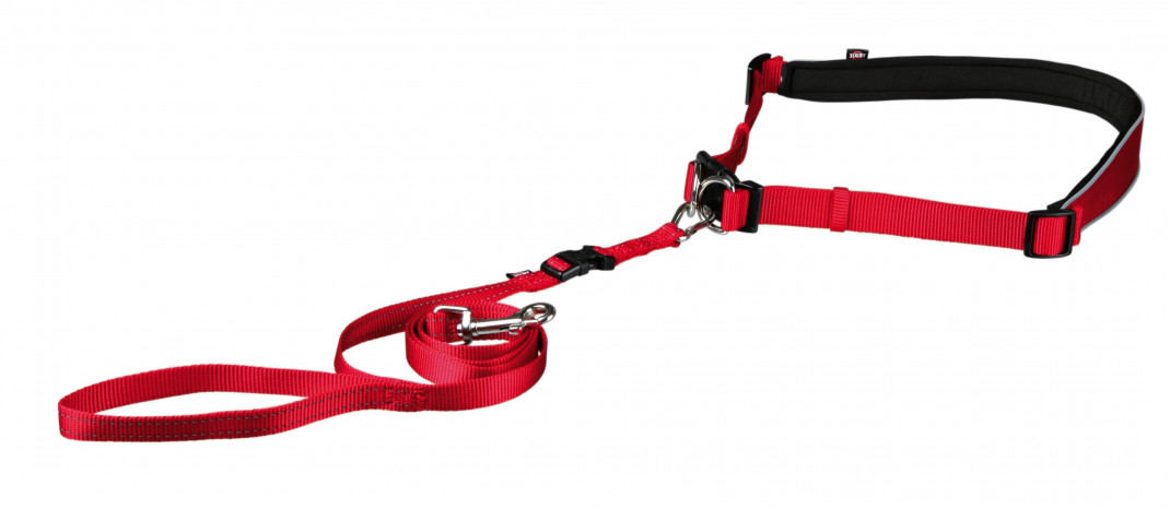 Trixie Waist Belt with Leash for Small and Medium-Sized Dogs  4011905127651 anmeldelser