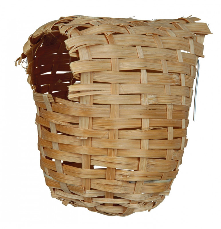 Trixie Exotic Nest, Bamboo 12x15 cm  buy online