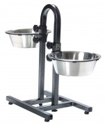 Dog Bar, Stainless Steel 2x2.8 l
