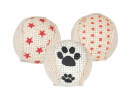 Trixie Set Ratel-Ballen, jute 5 cm