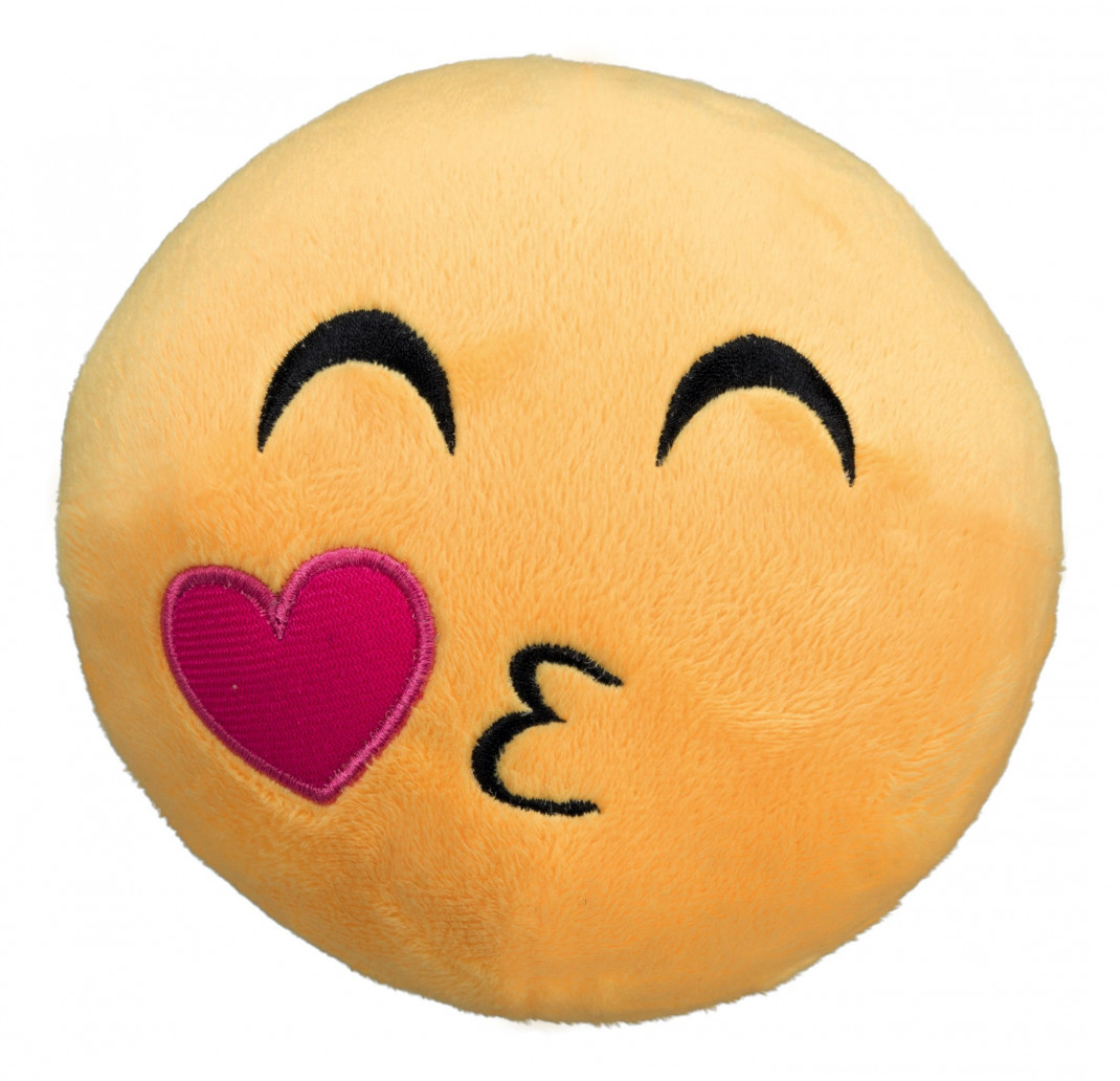Trixie Emoticono del Beso, Peluche  14 cm Kissing