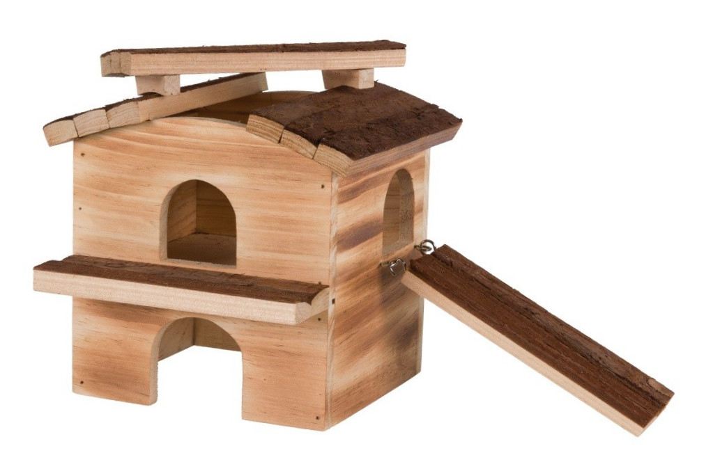 Trixie Natural Living Haus Melvin, geflammt 20x20x18 cm