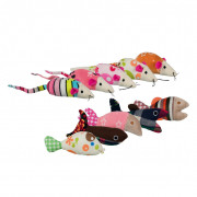 Mice and Fish, Plush 9-12 cm