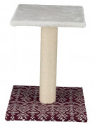 Carlotta Scratching Post White