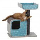 Alondra Scratching Post Aqua