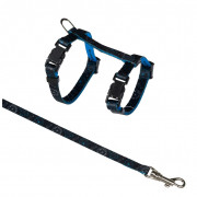 Kitten Harness with Leash, Nylon  21-33/0.8 cm