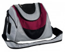 Trixie Mitch Front Carrier, silver/berry 35×28×22 cm