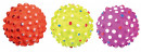 Trixie Assortment Hedgehog Balls, Foam Rubber, floatable 15 St
