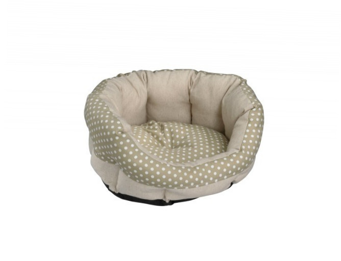 Europet-Bernina D&D Soft-Bed Dottie XL  Oliva 75x70x26 cm
