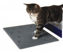 Cat Litter Mat Rubber grey 33x43 cm
